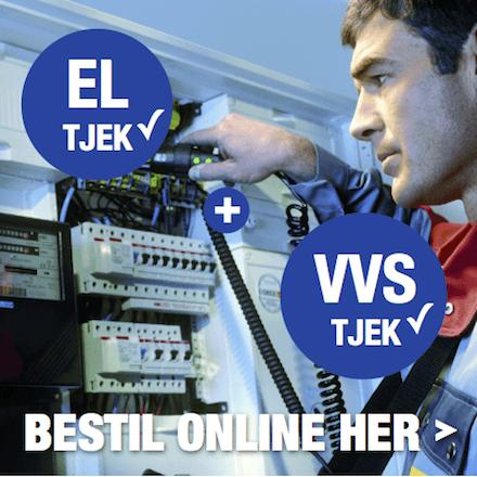 Bestil EL- og VVS eftersyn her!