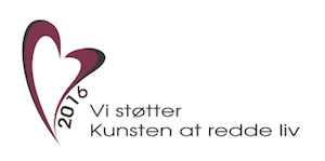 Kunsten at redde liv logo