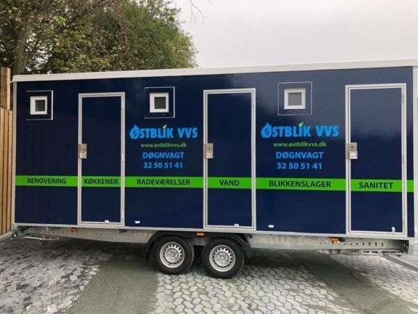 Toiletvogn 3 Stk. WC