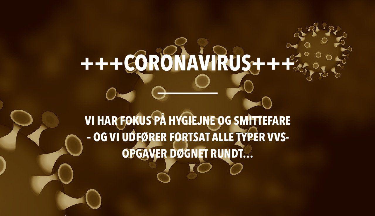 Fokus på coronavirus hos Østblik VVS